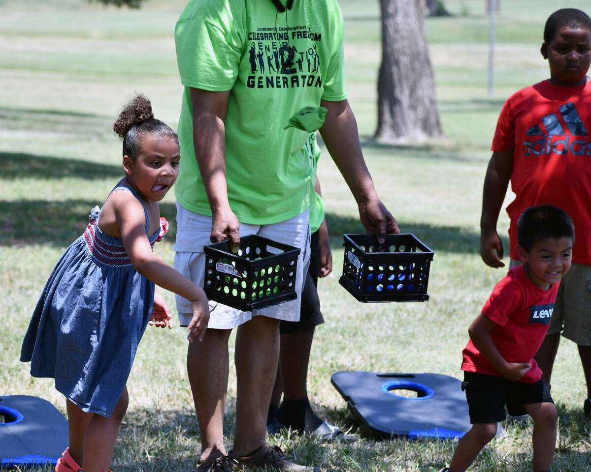 Locals of all ages took part in Plainview AHEAD's annual Juneteenth celebration on Saturday.