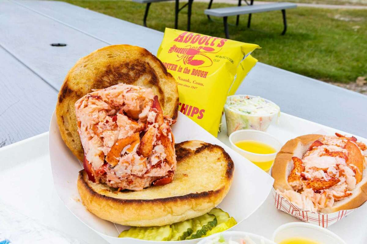 """Abbott's Outpost, Mystic Fans of Abbott's Lobster in the Rough and Costello's Clam Shack in Noank know the drill: Abbott's specializes in lobster, with whole lobster dinners and lobster rolls in three sizes, and Costello's is where you get your seafood fried golden-brown. But the Outpost in Mystic, which opened June 19, combines favorites from each menu, plus new items: lobster and crab dips with house chips, lobster crepes, lobster """"tater bombs"""" with beer cheese. The new restaurant in The Standard building also has a full bar. 3 Water St., 860-245-4729., abbottsoutpost.com."""