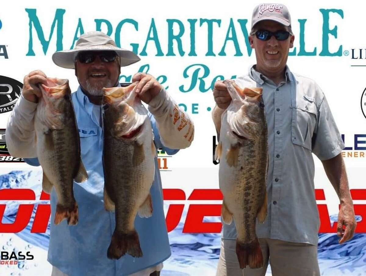 Mike Power and James Bower came in first place in the CONROEBASS Weekend Summer Series Tournament with a weight of 21.45 pounds.