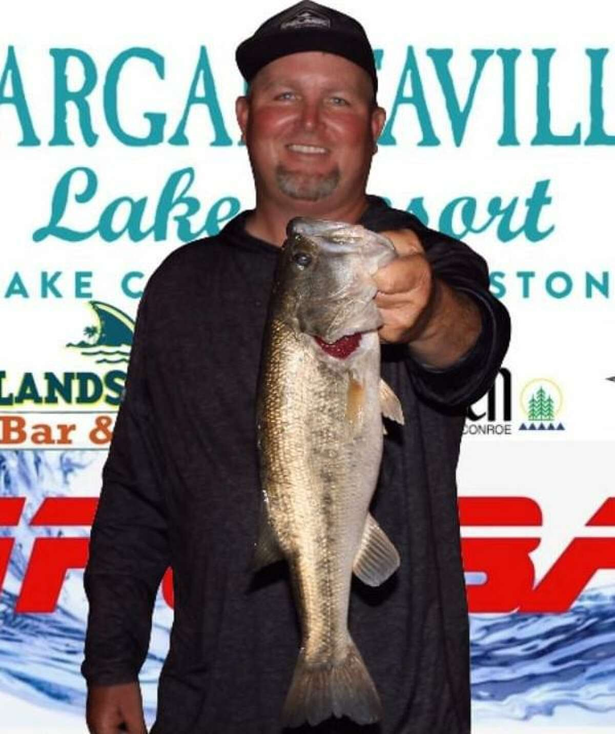 Tommy Baker came in first place in the CONROEBASS Thursday Big Bass Tournament with a weight of 3.76 pounds.