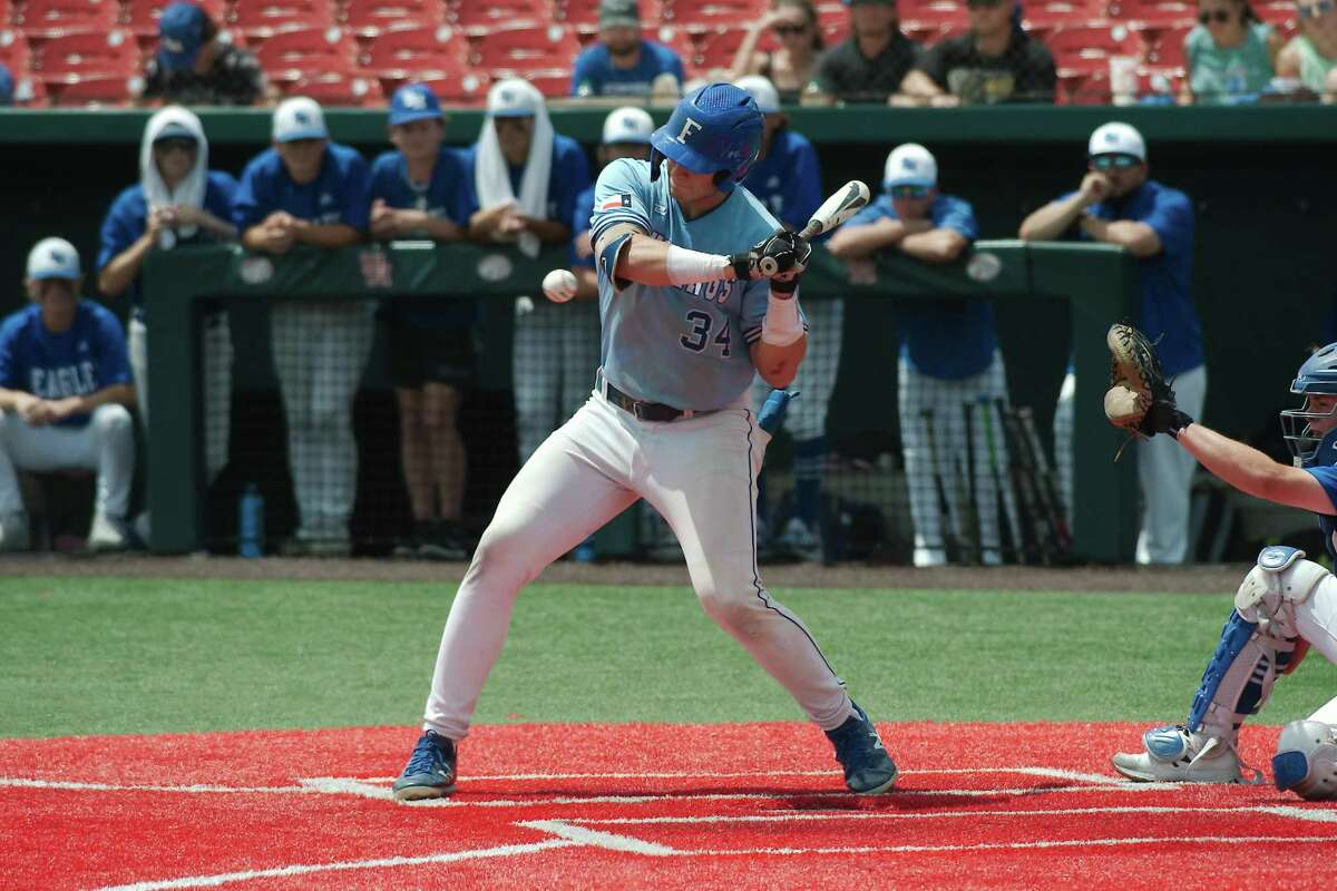 Friendswood's Izaac Pacheco (34) was selected by the Detroit Tigers Monday in the second round of the 2021 Major League Baseball Draft.