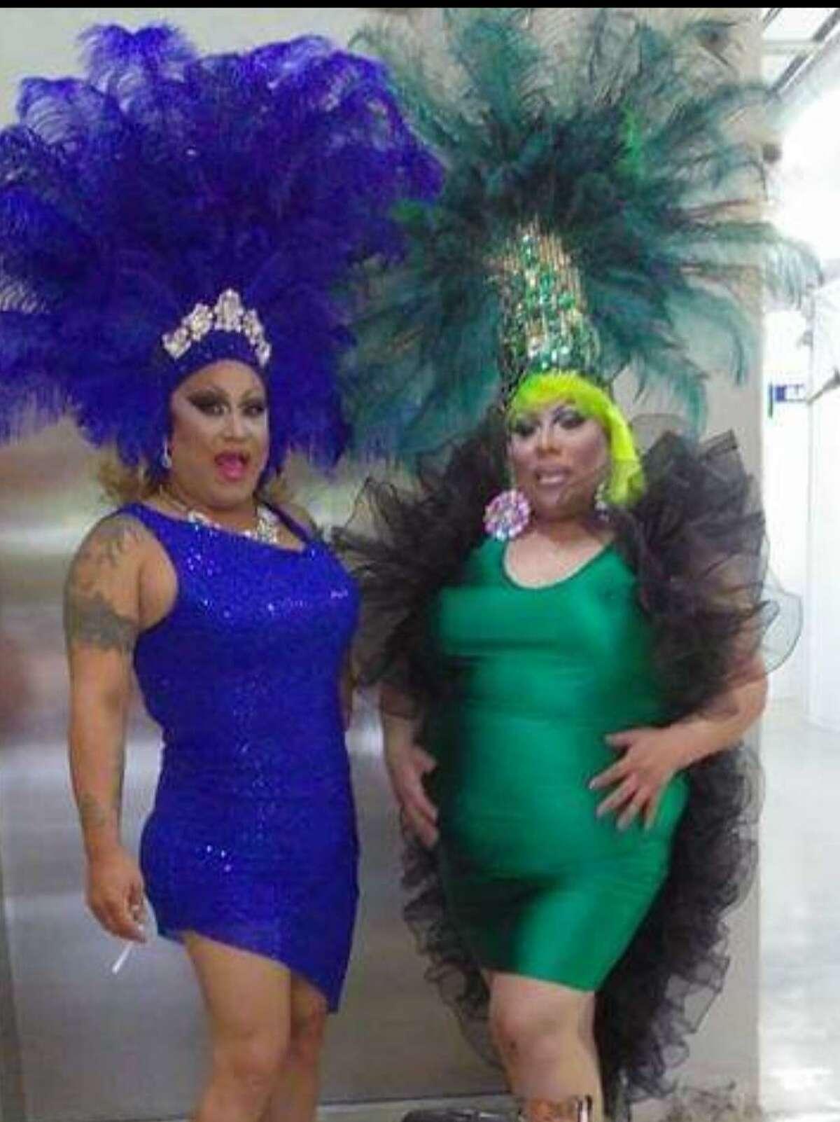 Dressmaker Maria Chavez, who sews ensembles for a lot of San Antonio drag artists, will receive the Vela Award from Pride San Antonio.