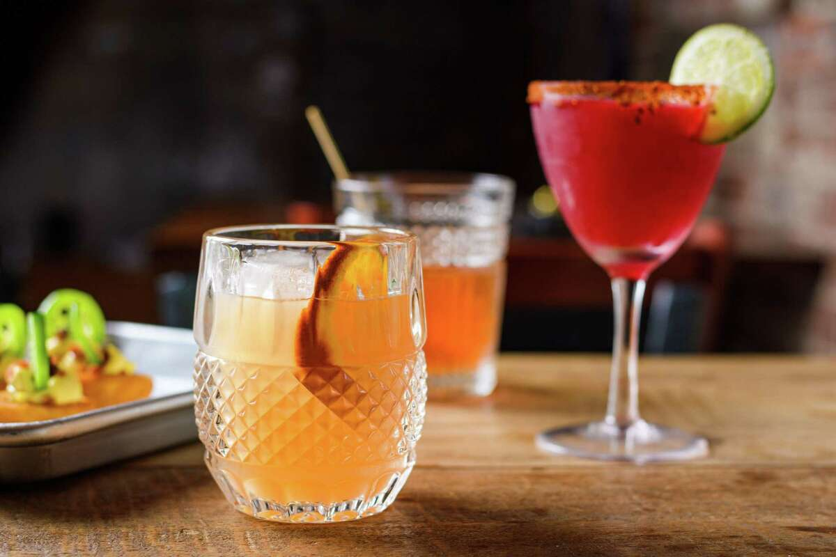 The restaurant's cozy bar is in the basement, with 8 beers on draft, more in bottles and cans, wines by the glass and a lineup of specialty cocktails ($11 to $13) featuring gin, vodka, mezcal and rum.