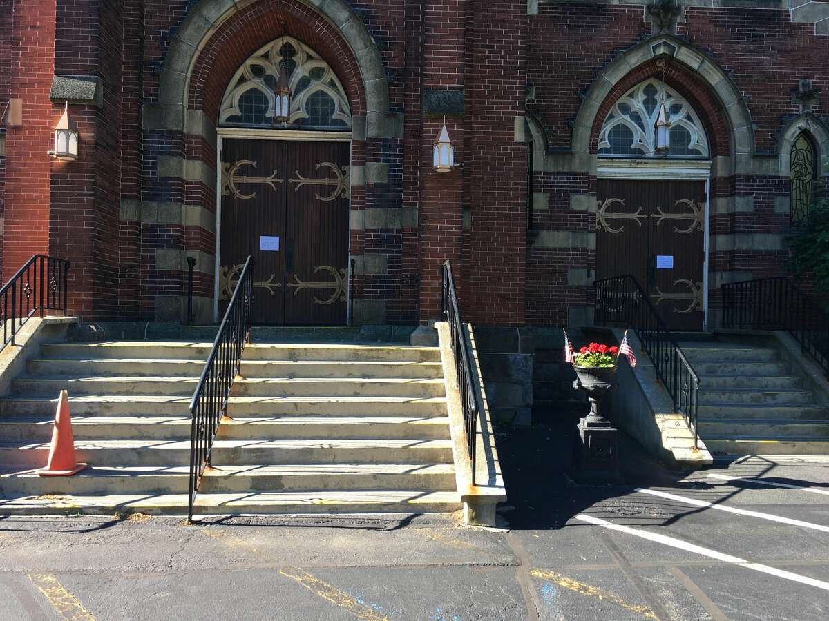 The priest and parishioners at St. Adalbert'schurch in in Schenectady feared the worst when they discovered Monday that someone had stolen three ornate and likely century-old door handles from the entrances to the Lansing Street house of worship.