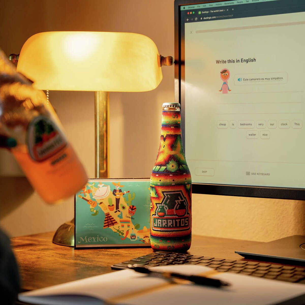 Jarritos and Duolingo collaboration