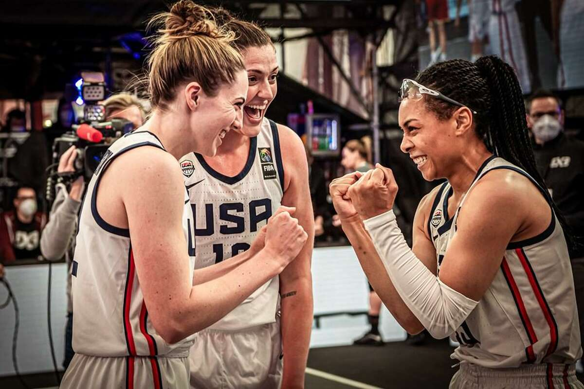 Katie Lou Samuelson, Stefanie Dolson and Allisha Gray were named to the U.S. 3-on-3 women's basketball team to compete at the Tokyo Summer Games.