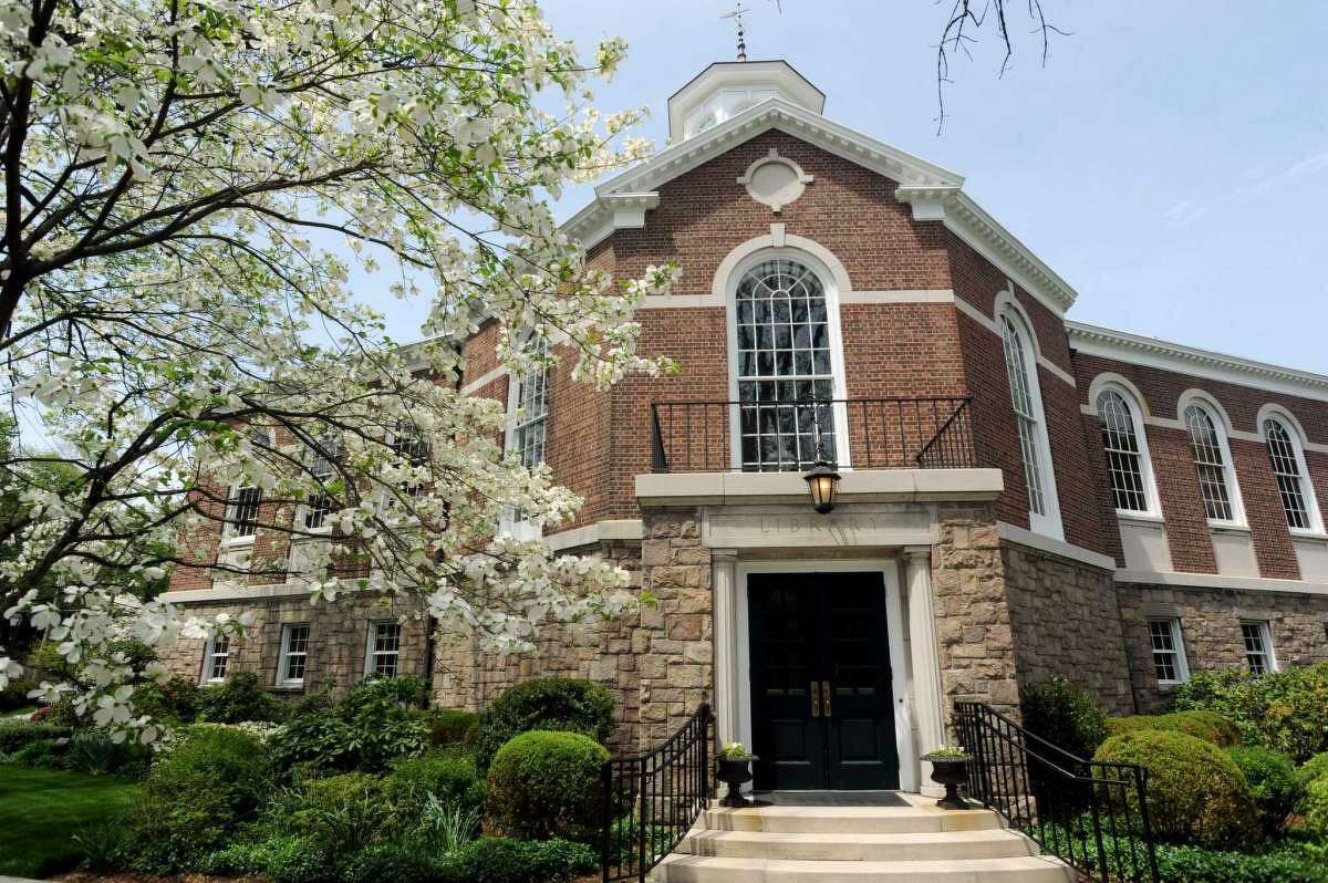 The Perrot Memorial Library is a landmark in Old Greenwich