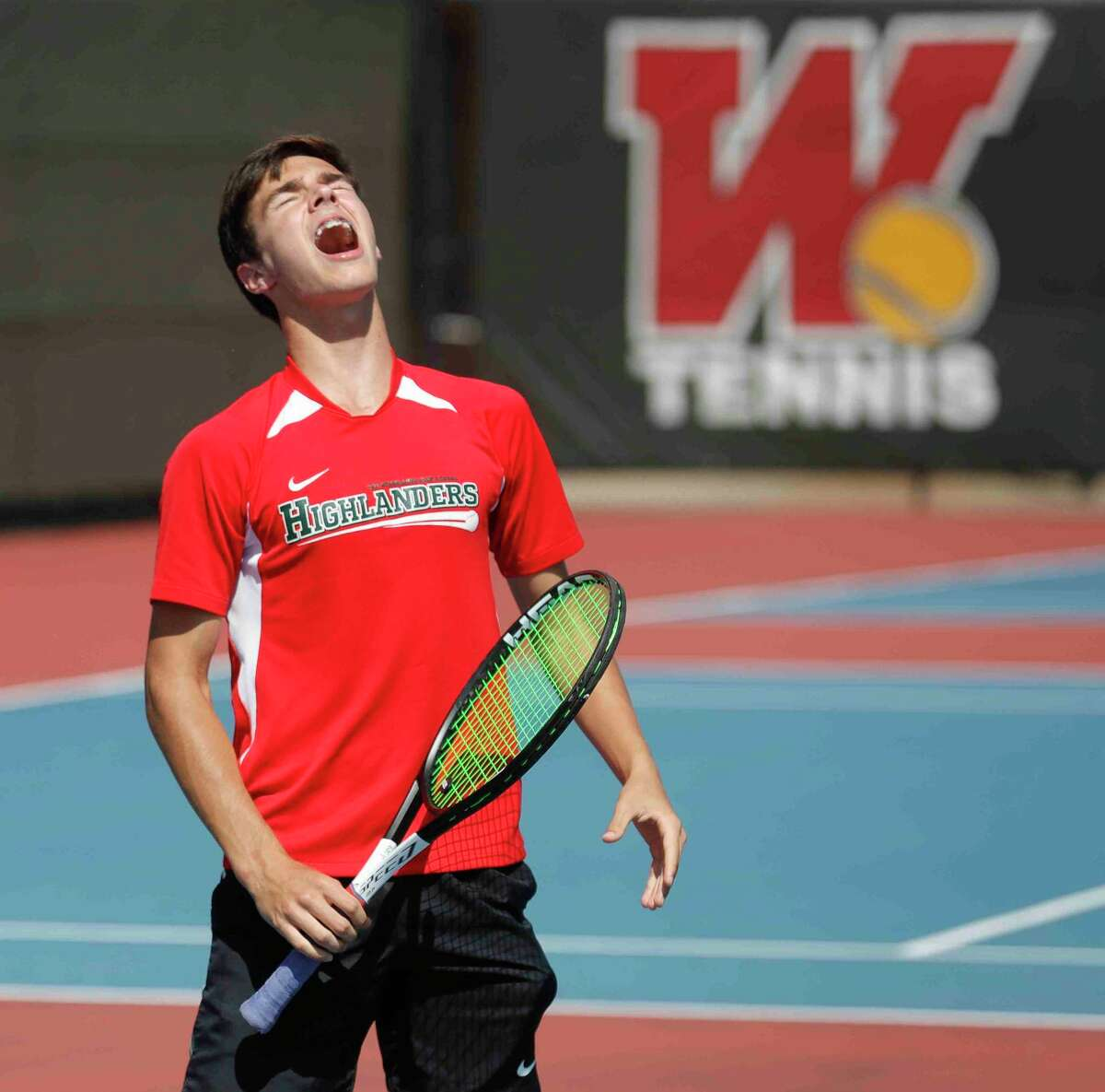 The Woodlands sophomore Emilio Lopez went undefeated in singles play throughout the year and advanced to the state semifinals in doubles.