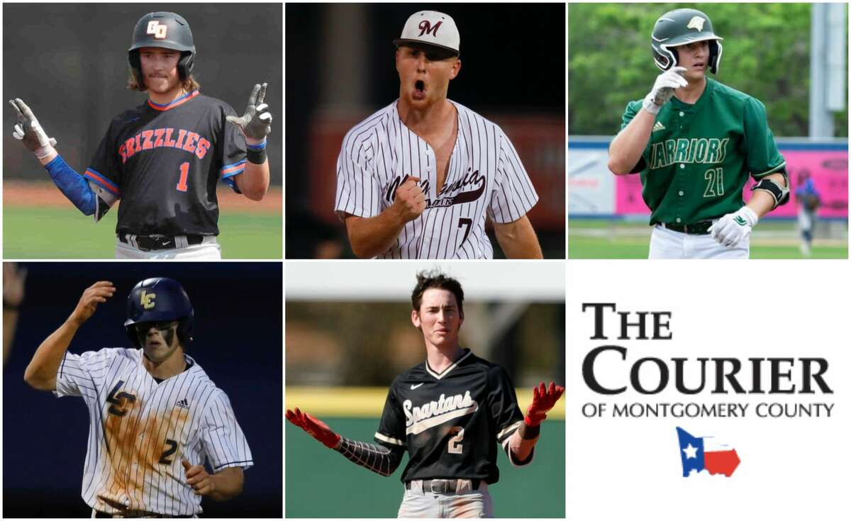 Sloan Laird (Grand Oaks), Cameron Nickens (Magnolia), Carson Queck (TWCA), John Spikerman (Lake Creek) and Conner Westenburg (Porter) are nominees for The Courier's Offensive MVP.