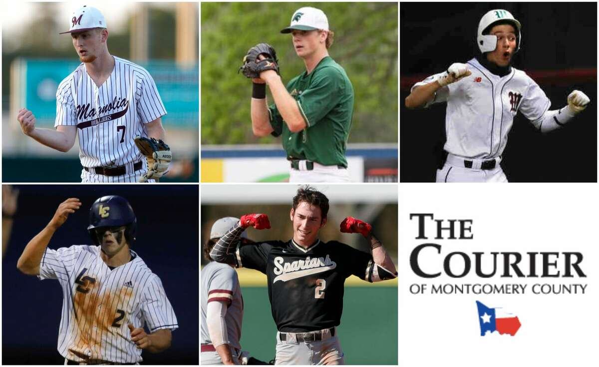 Cameron Nickens (Magnolia), Caedmon Parker (TWCA), Brayden Sharp (The Woodlands), John Spikerman (Lake Creek) and Conner Westenburg (Porter) are nominees for The Courier's Player of the Year.