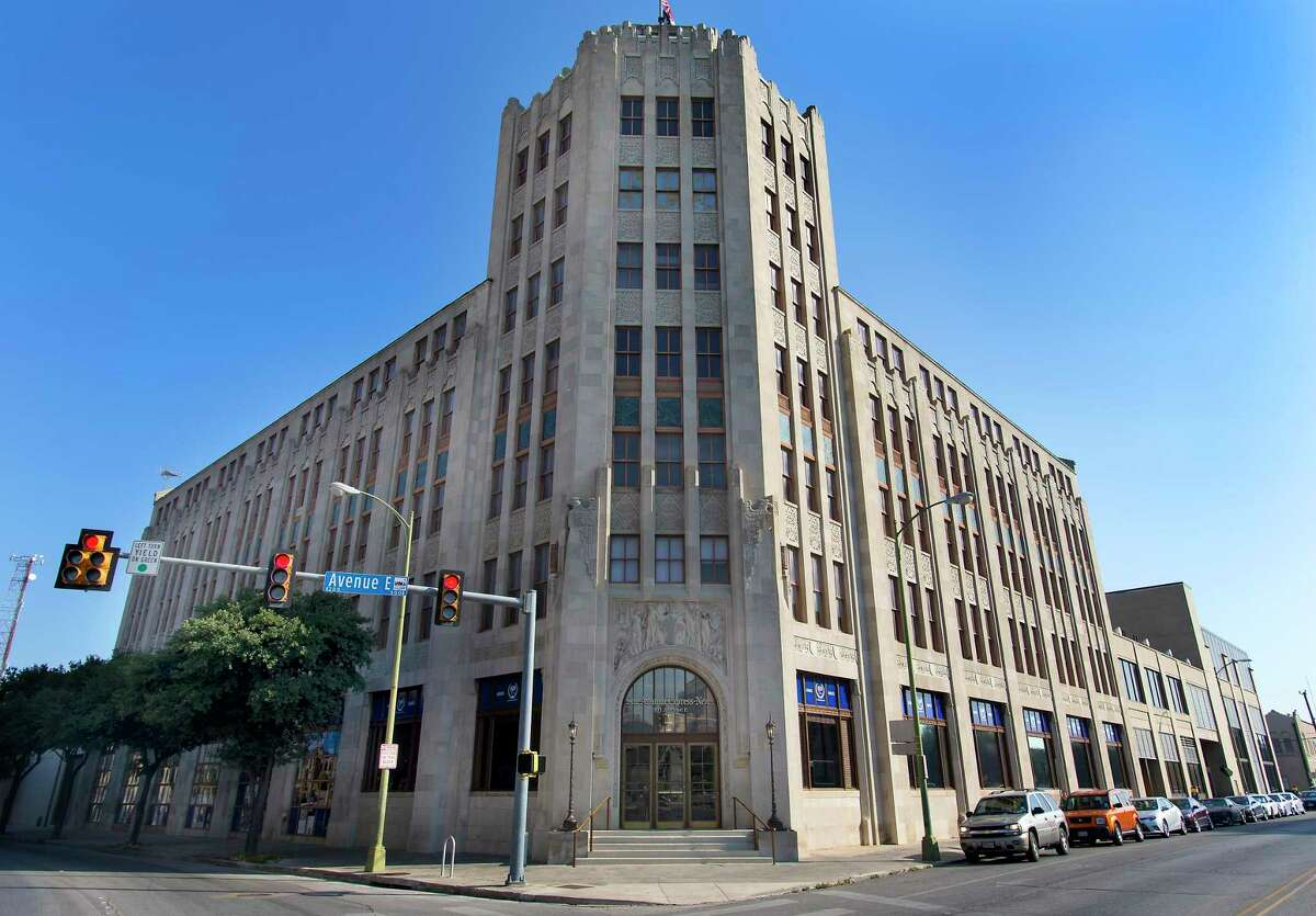 The San Antonio Express-News building, at the corner of Avenue E and 3rd Street, is up for sale. Monday was the deadline for most everyone to clear out their stuff. In September, the staff will begin working out of the former San Antonio Light building, which is being extensively renovated.