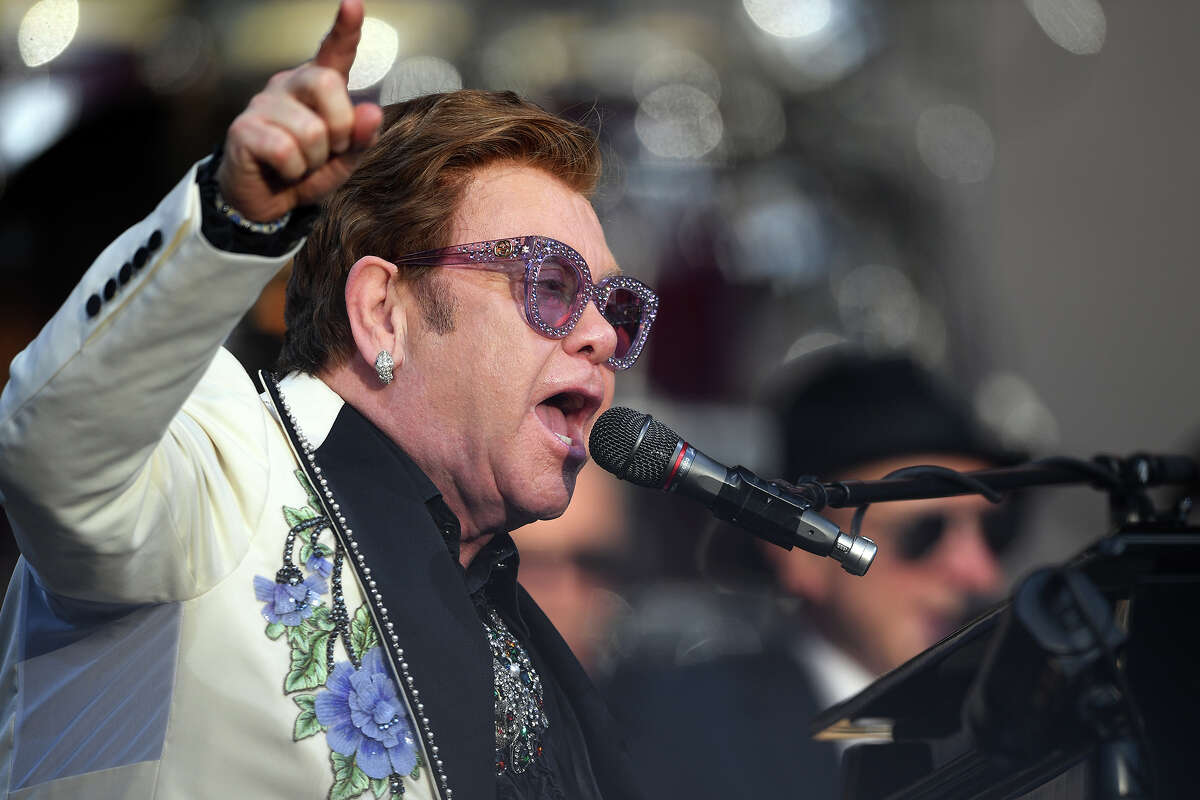 Elton John's farewell tour will perform three shows in Texas: At the Globe Life Field in Arlington on Sept. 30, 2022, at The Alamodome in San Antonio on Oct. 29 2022, and at Minute Maid Park in Houston on Nov. 24, 2022.