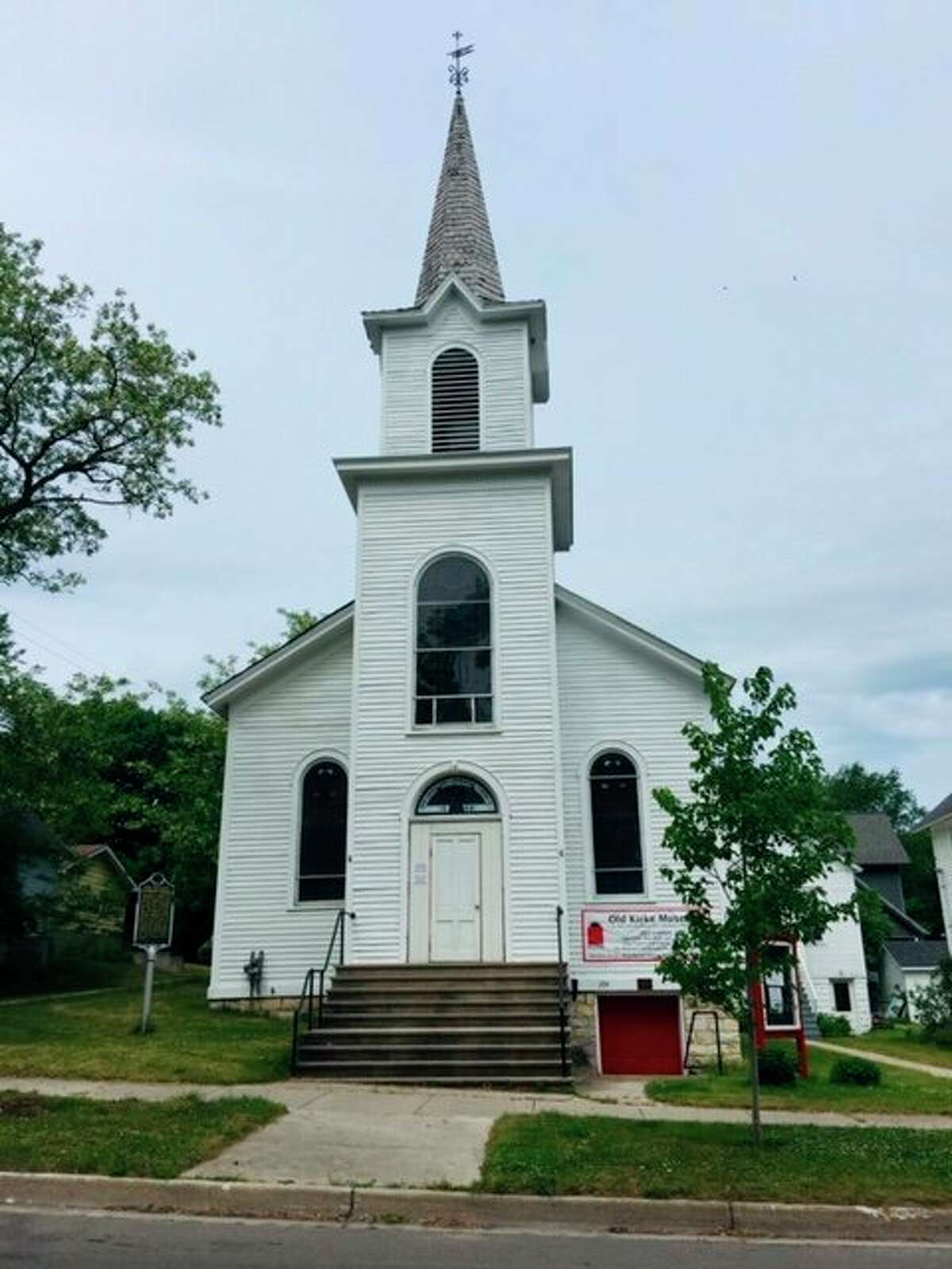 """The Old Kirke Museum will again open its doorsnext month; it will begin hosting its""""First Person Story and Songs""""programs with the first event at 10 a.m. on July 1 at the museum located at304 Walnut St.in Manistee. (Courtesy photo)"""