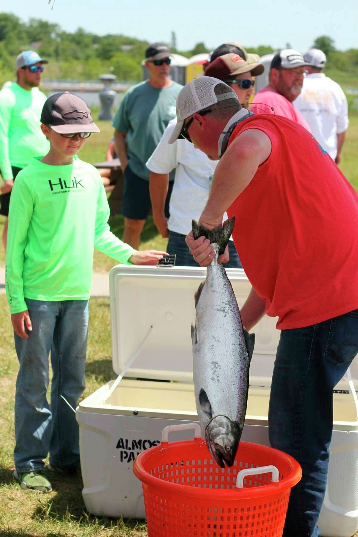The Budweiser PRO/AM Fishing Tournament is scheduled to take place on Sunday. (File photo)