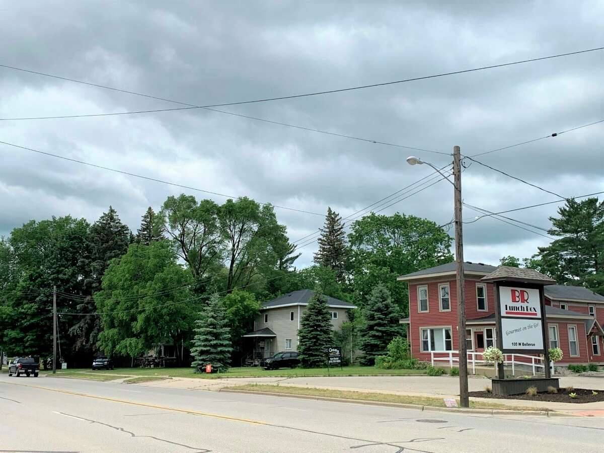 The Big Rapids city commission voted to deny a rezoning request from Krist Oil Company to rezone this property from RR Residential Restricted to C3 Commercial for the purpose of constructing a gas station and convenience store. (Pioneer photo/Cathie Crew)