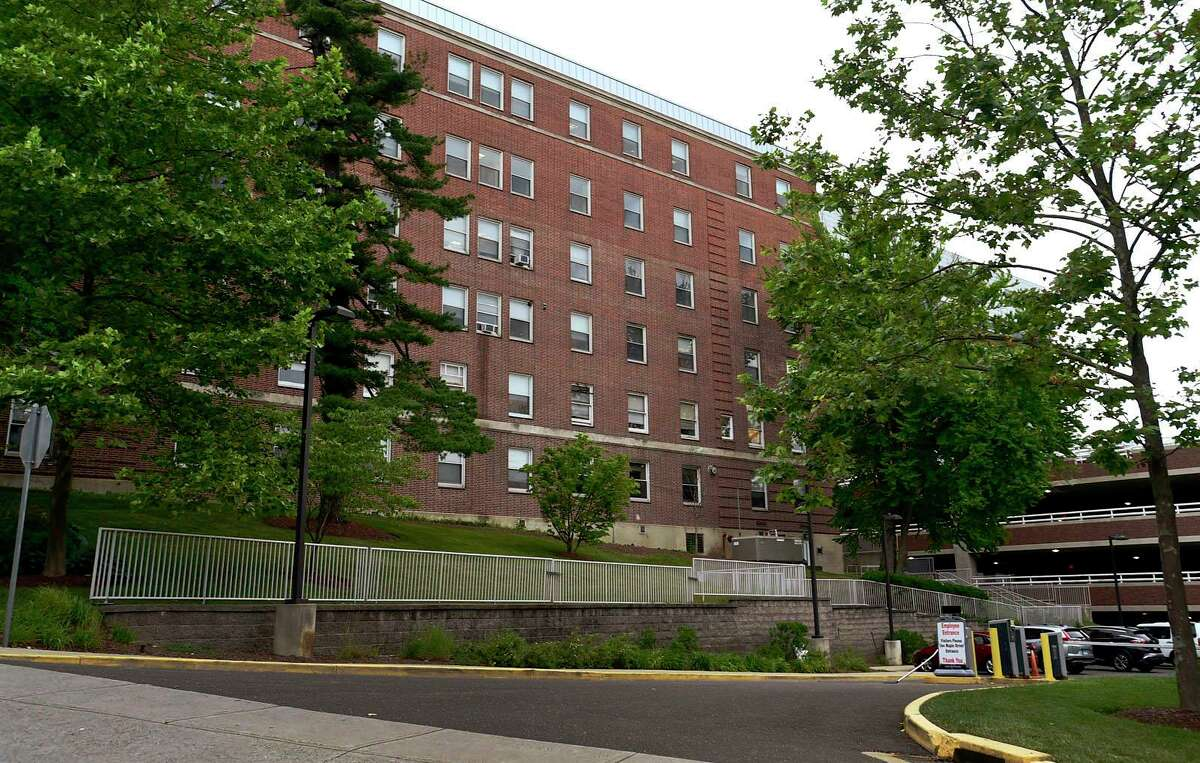 Norwalk Hospital plans to tear down several older buildings as part of renovations Tuesday, June 22, 2021, in Norwalk, Conn. The hospital plans to tear down several older buildings as part of renovations.