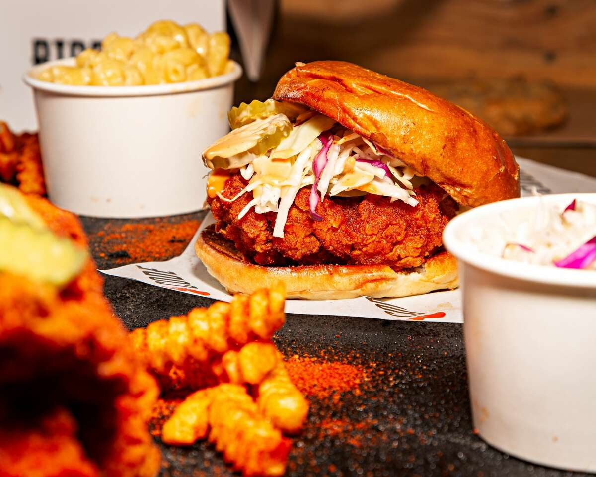 Birdcode owners Brandi and Phil Killorantraveled the country for about 18 months, tasting hot chicken and eventually perfecting their own recipes.
