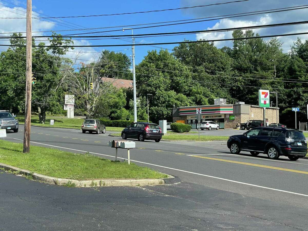 The 7-Eleven on Stony Hill Road where a Bethel an officer reportedly encountered Trooper Andrew Murphy before his DUI arrest this weekend.