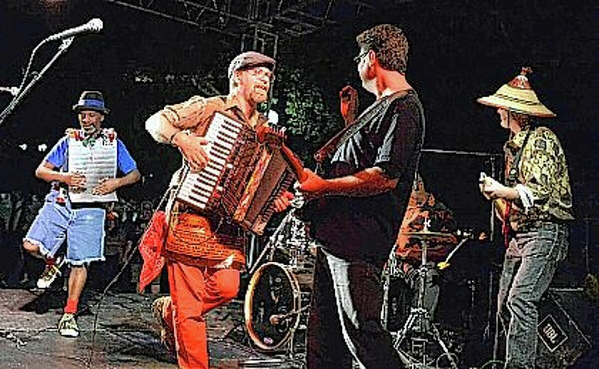 The Ernest James Zydeco band will perform Friday on the downtown Jacksonville square as part of Main Street Jacksonville's Summer Concert Series.