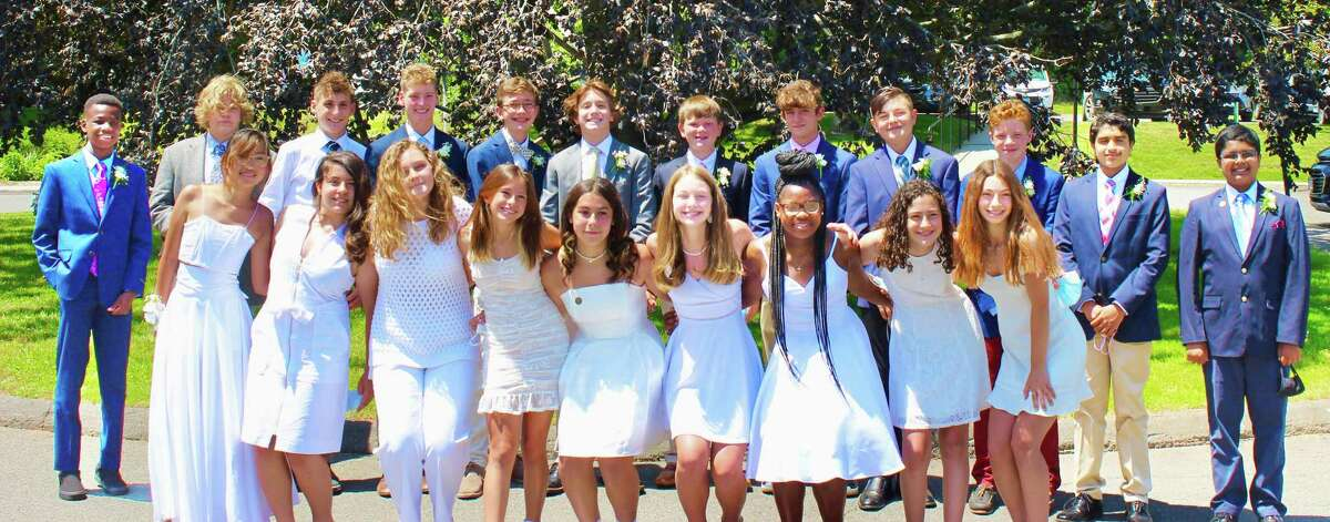 The Independent Day School class of 2021 gathered in Middlefield with family, teachers and administrators to celebrate their graduation recently.