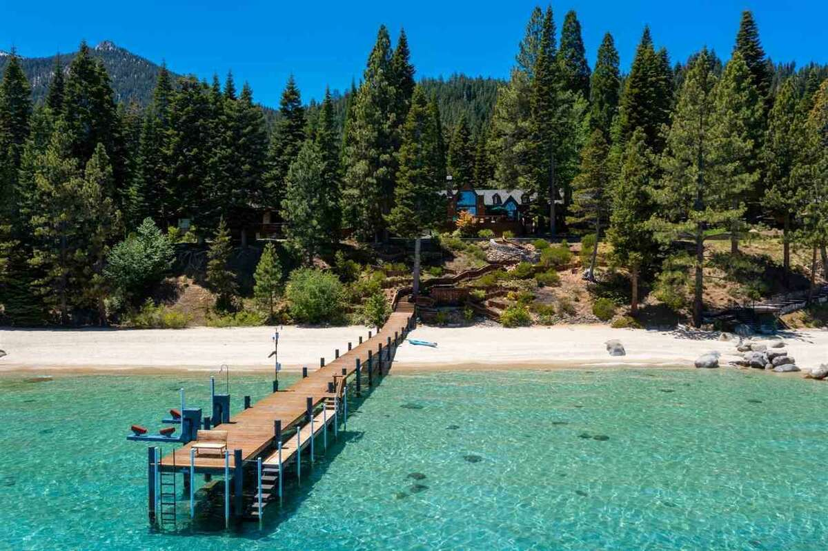 This South Lake Tahoe estate, linked to Senator Dianne Feinstein and her husband, Richard C. Blum, is listed at $41 million.