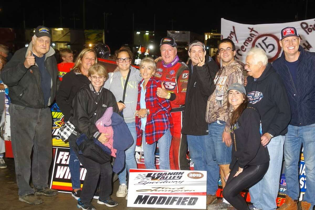 Kenny Tremont, center, with family and friends. (Mark Brown Photography)