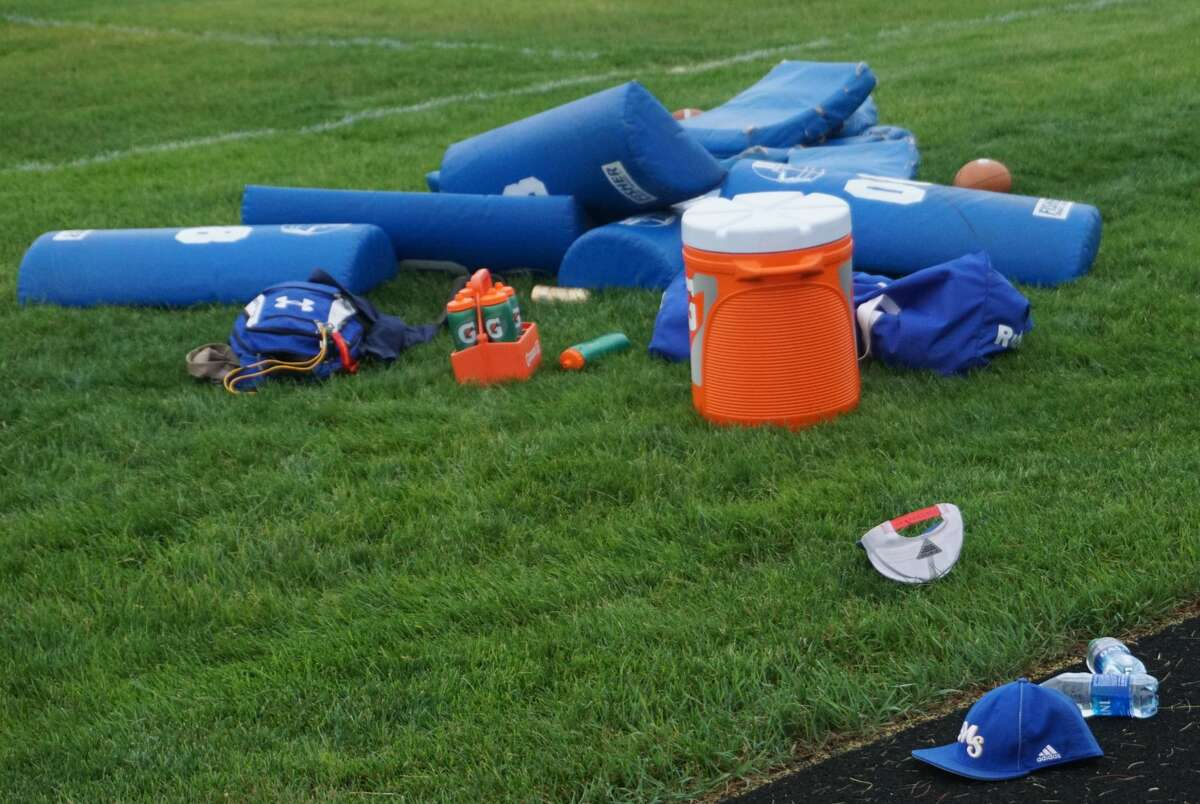 On Wednesday evening, Morley Stanwood's football team hosted Greenville for a joint practice.