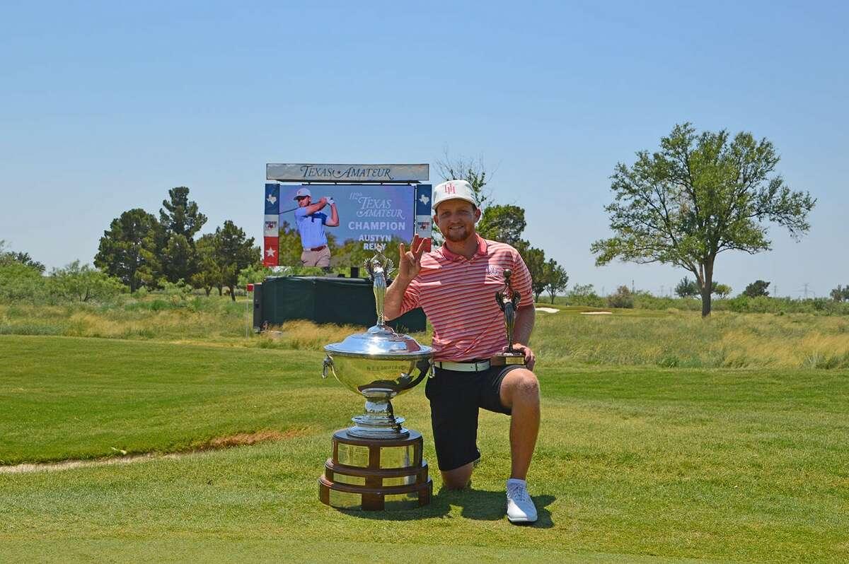 UH golfer Austyn Reilywon the recent Texas Amateur title.