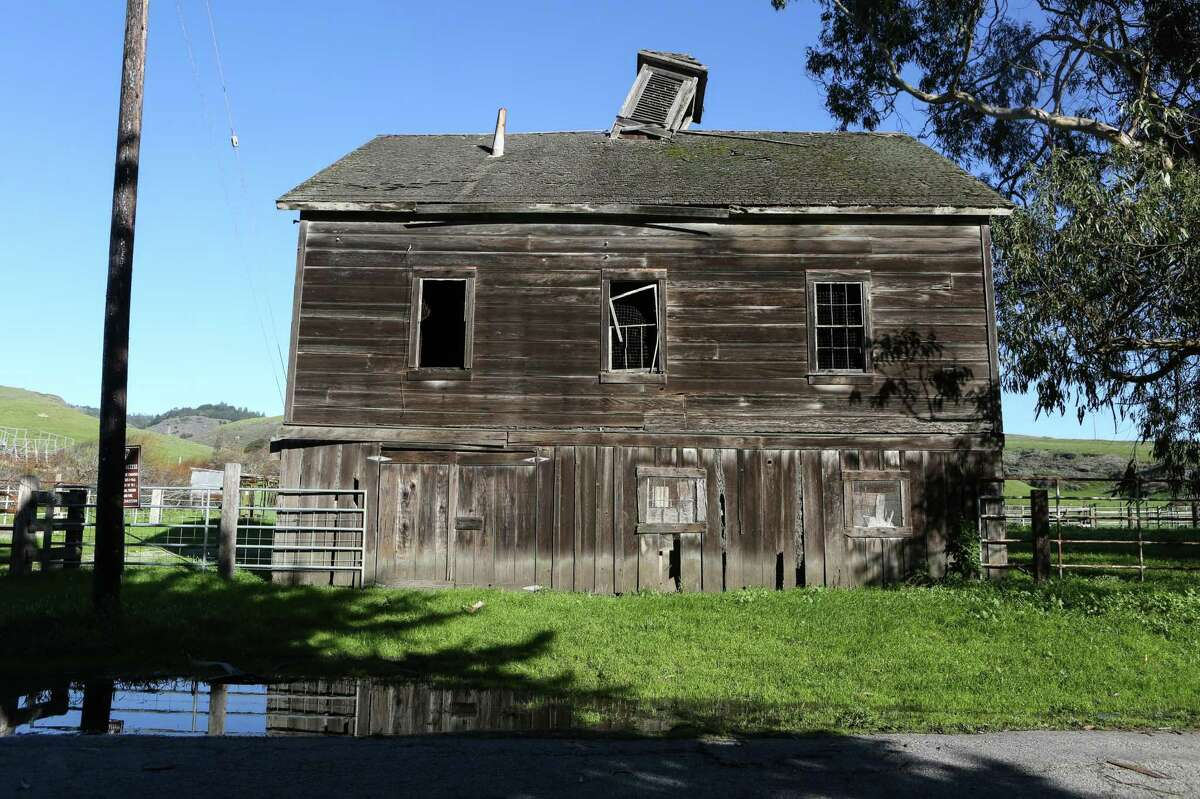 An old dairy farmhouse is one of the few buildings at Cotoni-Coast Dairies.