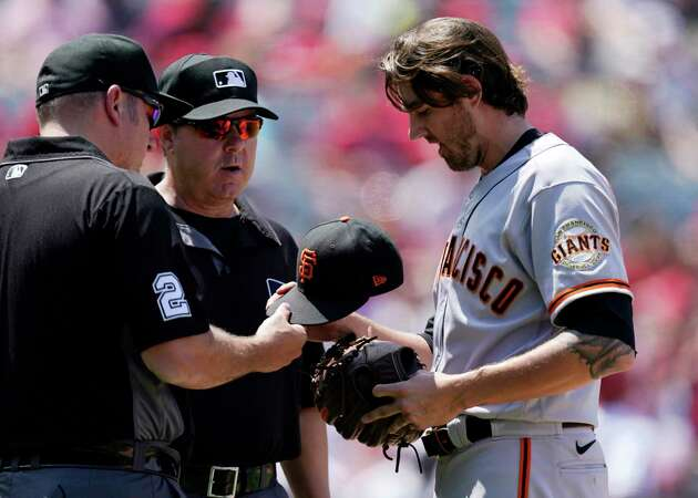Story photo for How to fix MLB's embarrassing optics when checking pitchers for cheating