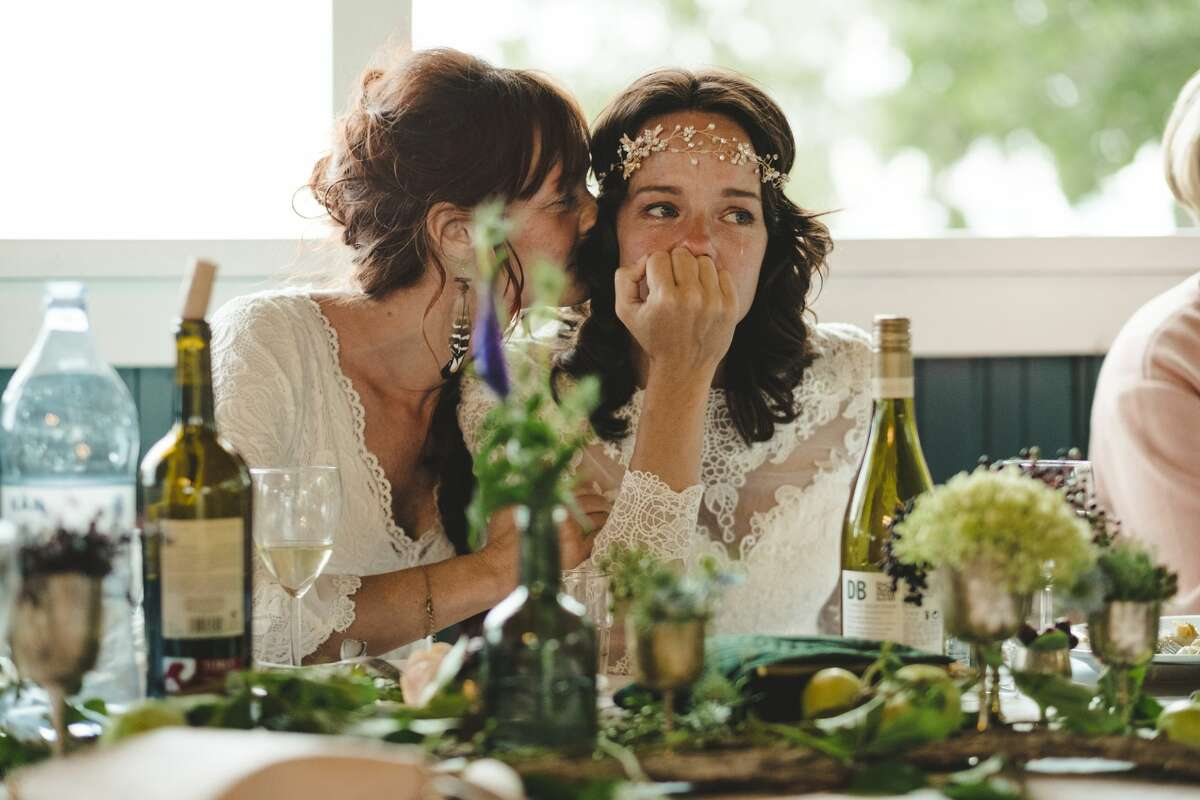 A bride thought of almost everything for her special day.
