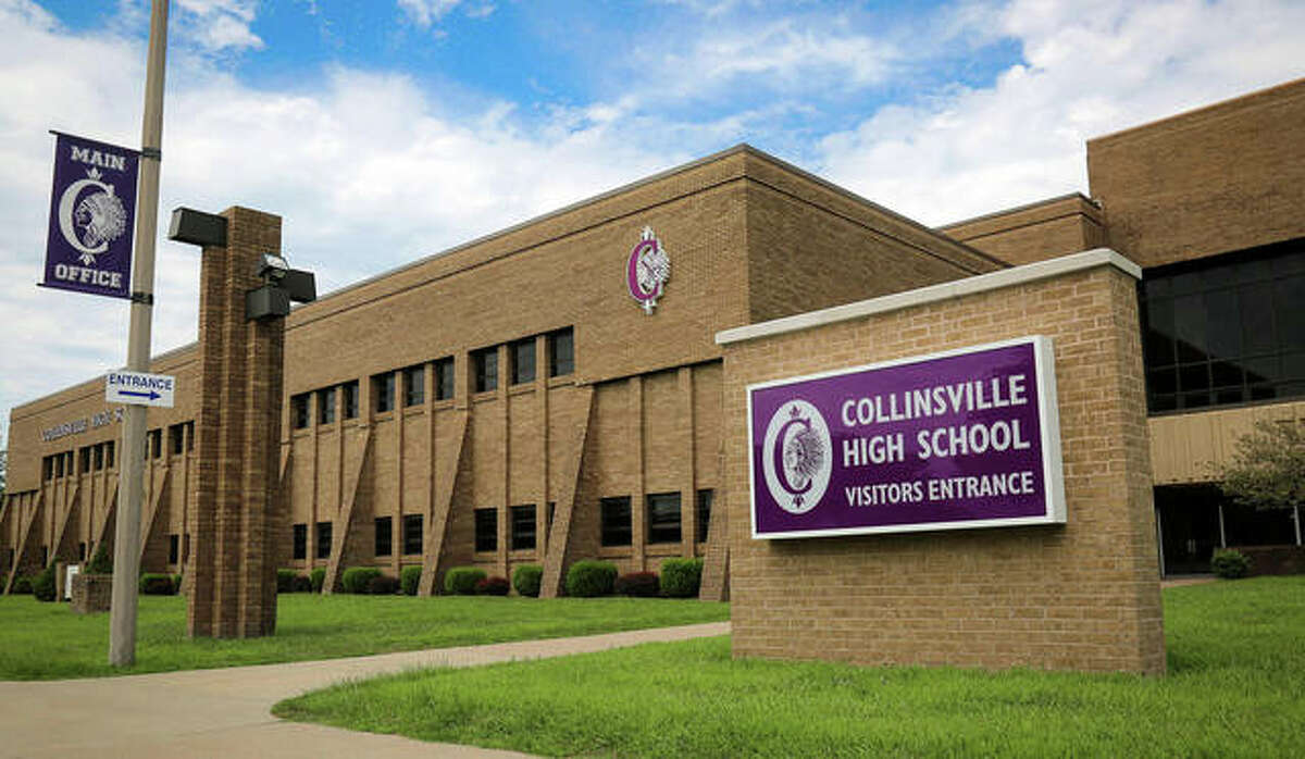 Collinsville High School, just one of the district's schools affected by the pandemic.