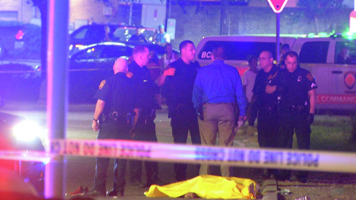 San Antonio police are investigating a double shooting that left one dead near Interstate 35 and SW Military.