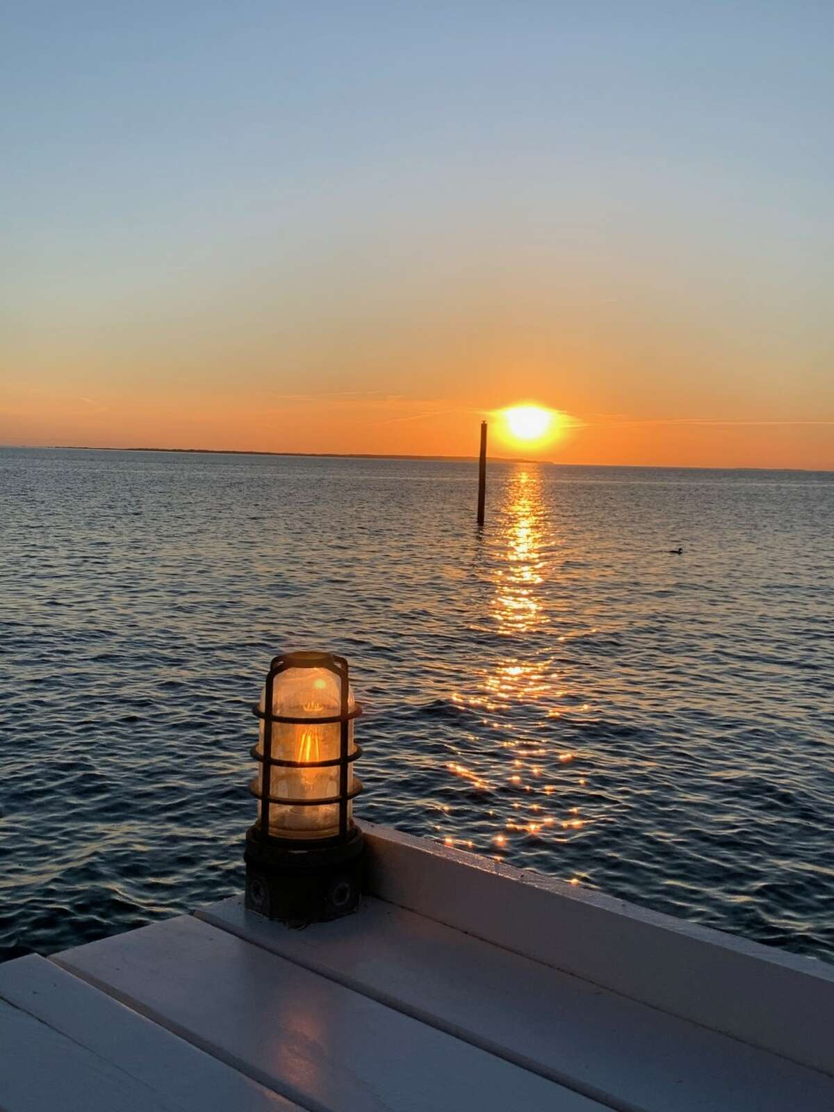 The view at Duryea's in Montauk looks like a postcard.If you time it right, you can head there for dinner and catch the sunset over the water.