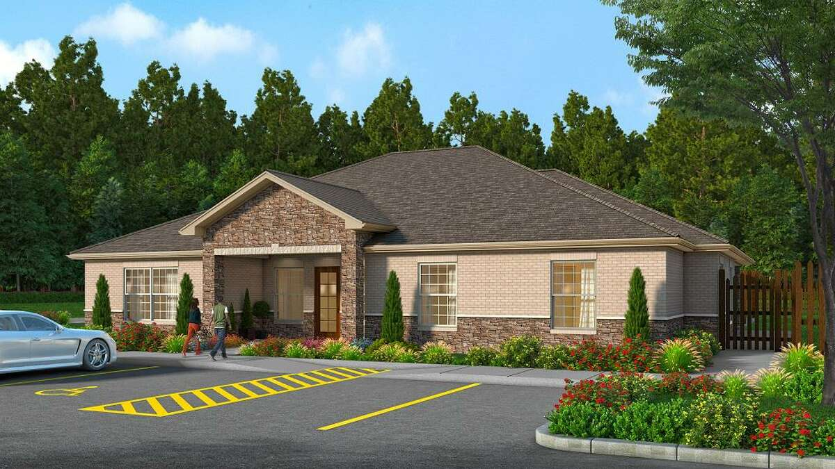 This 5,800-square-foot Life Skills Center for Family Promise of Lake Houston is under construction.