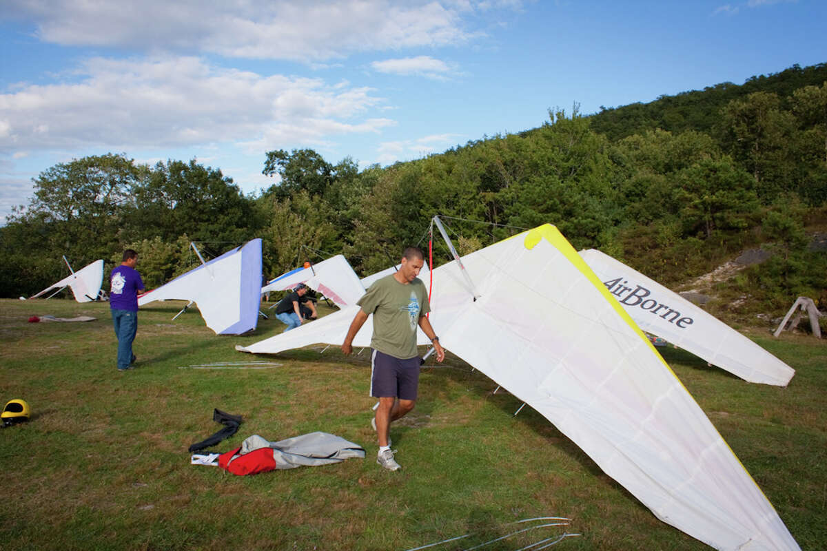 Ellenville Flight Park, located in Ulster County among the Shawangunk Mountain Ridge, is one of the many options for thrill seekers to get their fix in the area.