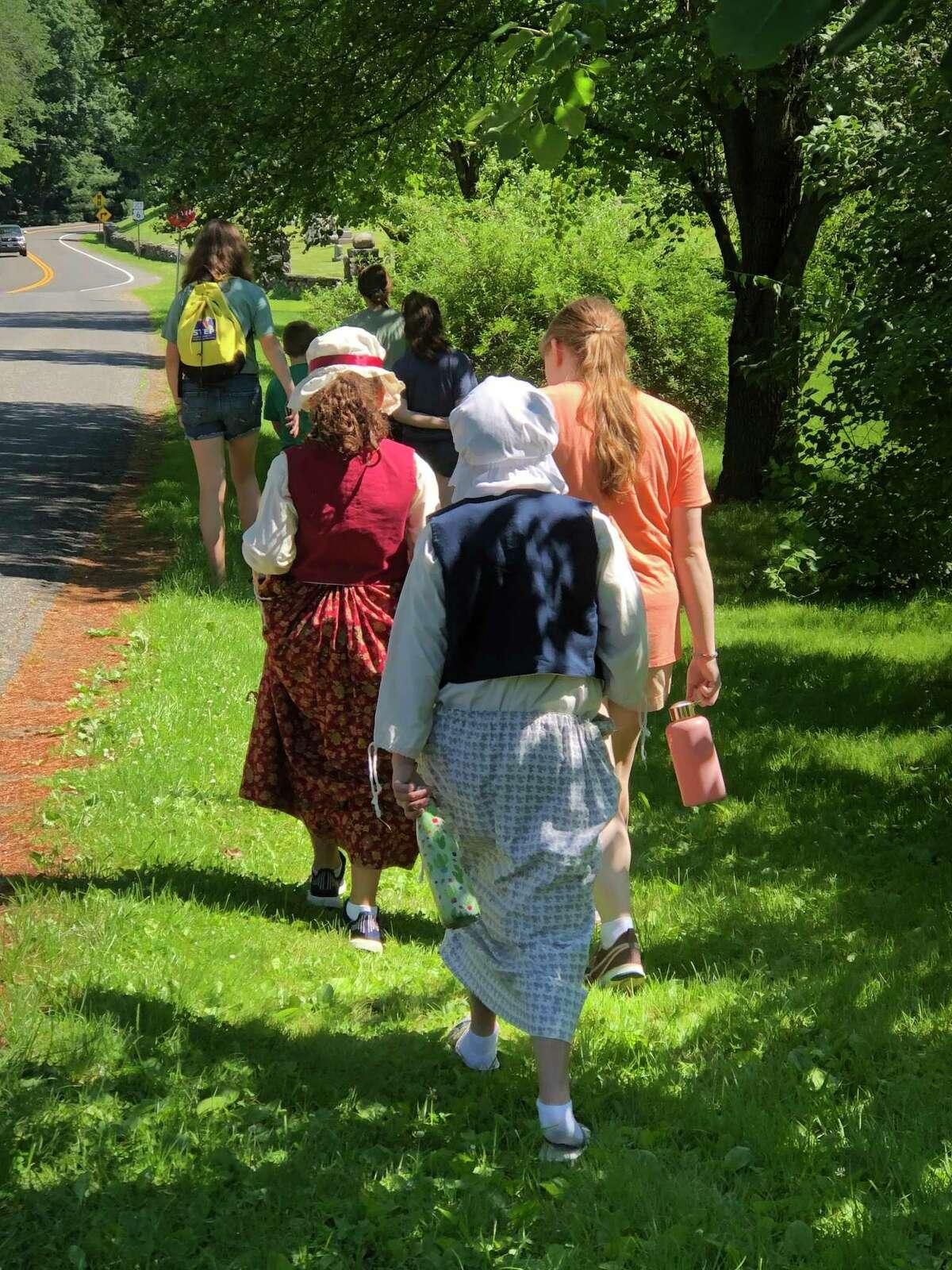 Children at a past summer program.