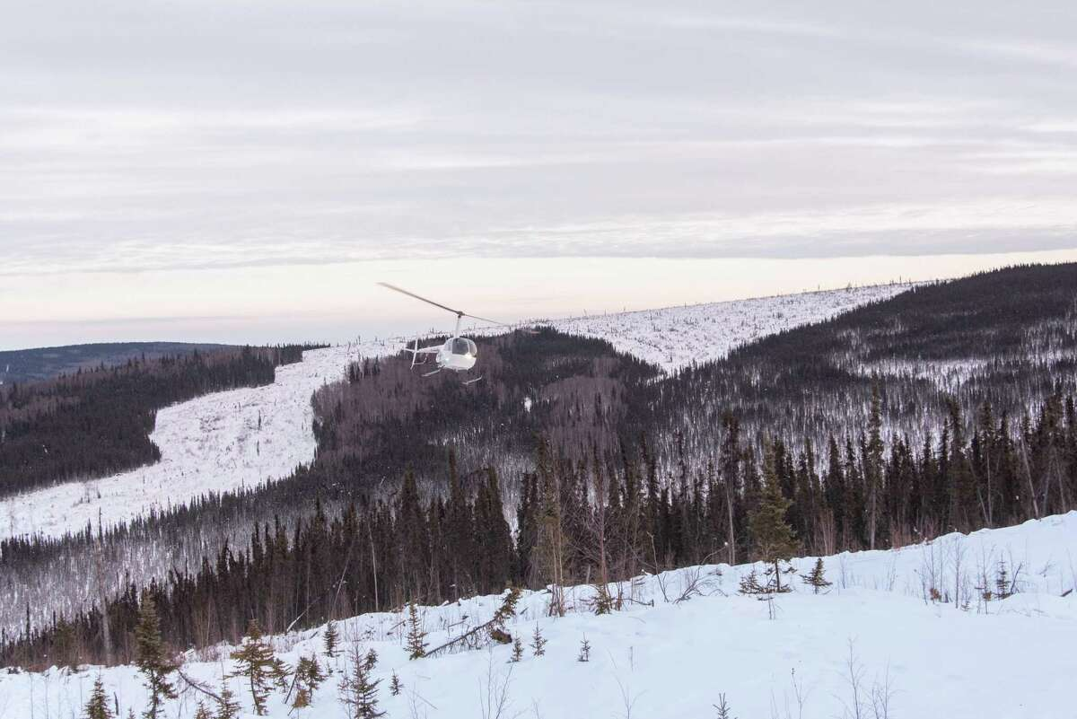 Borealis Basecamp is on 100 acres of boreal forest just 25 miles north of Fairbanks.