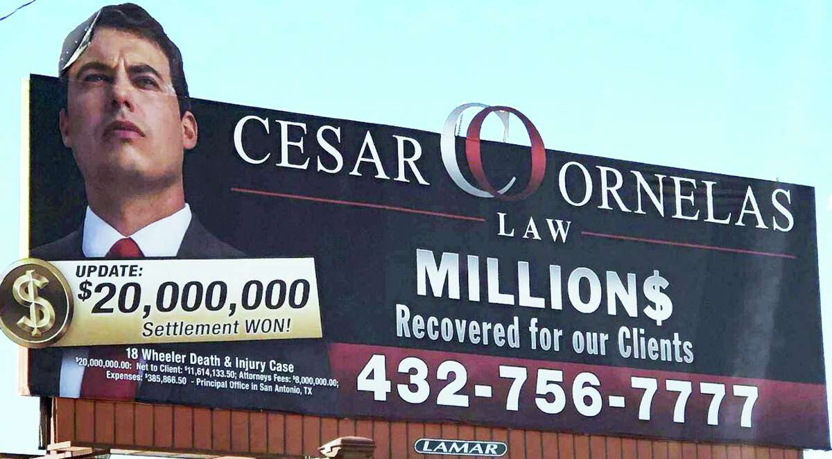 """San Antonio attorney Cesar Ornelas II recently obtained a temporary restraining order against his father, Cesar Ornelas, after accusing him of engaging in """"an ongoing intimidation, extortion and disparagement campaign against"""" the lawyer."""