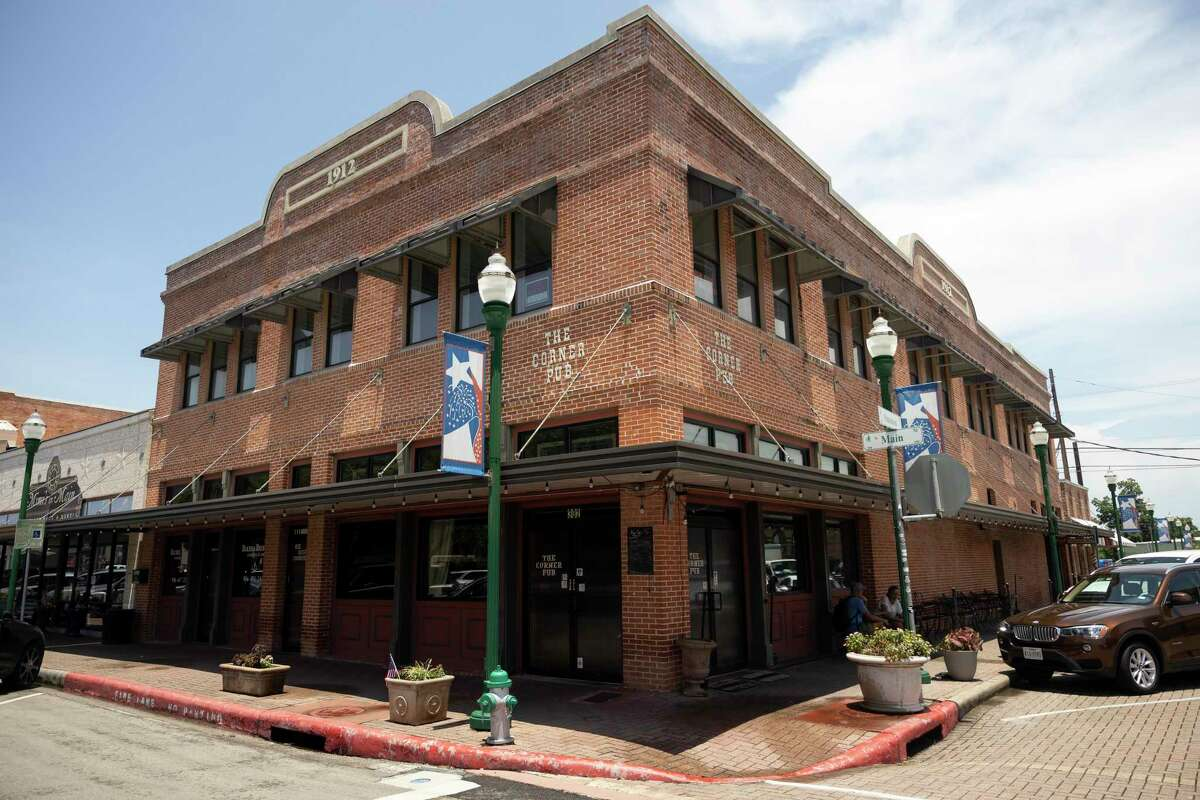 The Corner Pub is seen, Wednesday, June 23, 2021, in downtown Conroe.