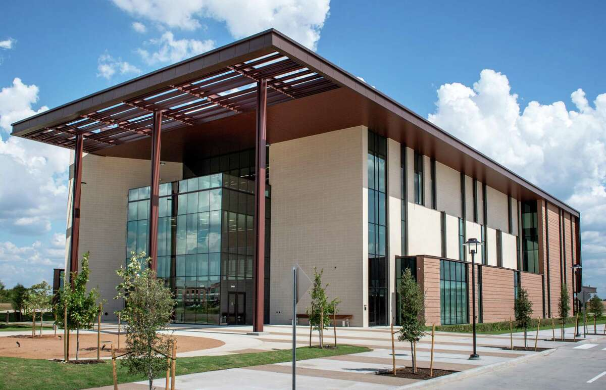 The University of Houston-Victoria will host commencement ceremonies in July for 2020 and 2021 graduates. The UHV Katy campus is pictured here.