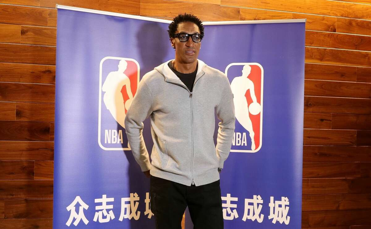 Scottie Pippen is still mad about the one season he played with the Houston Rockets.
