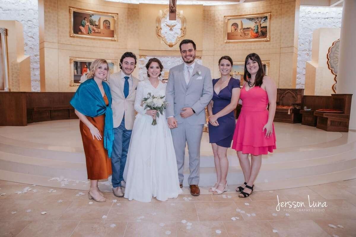 Mariana and her husband Gerardo got married on June 19, 2021.