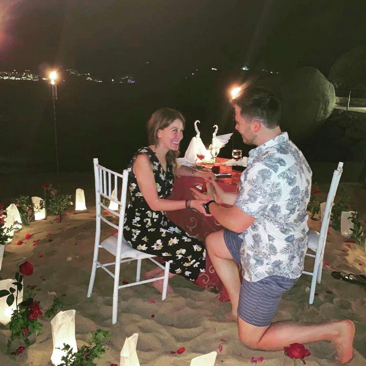 The night Gerardo proposed.