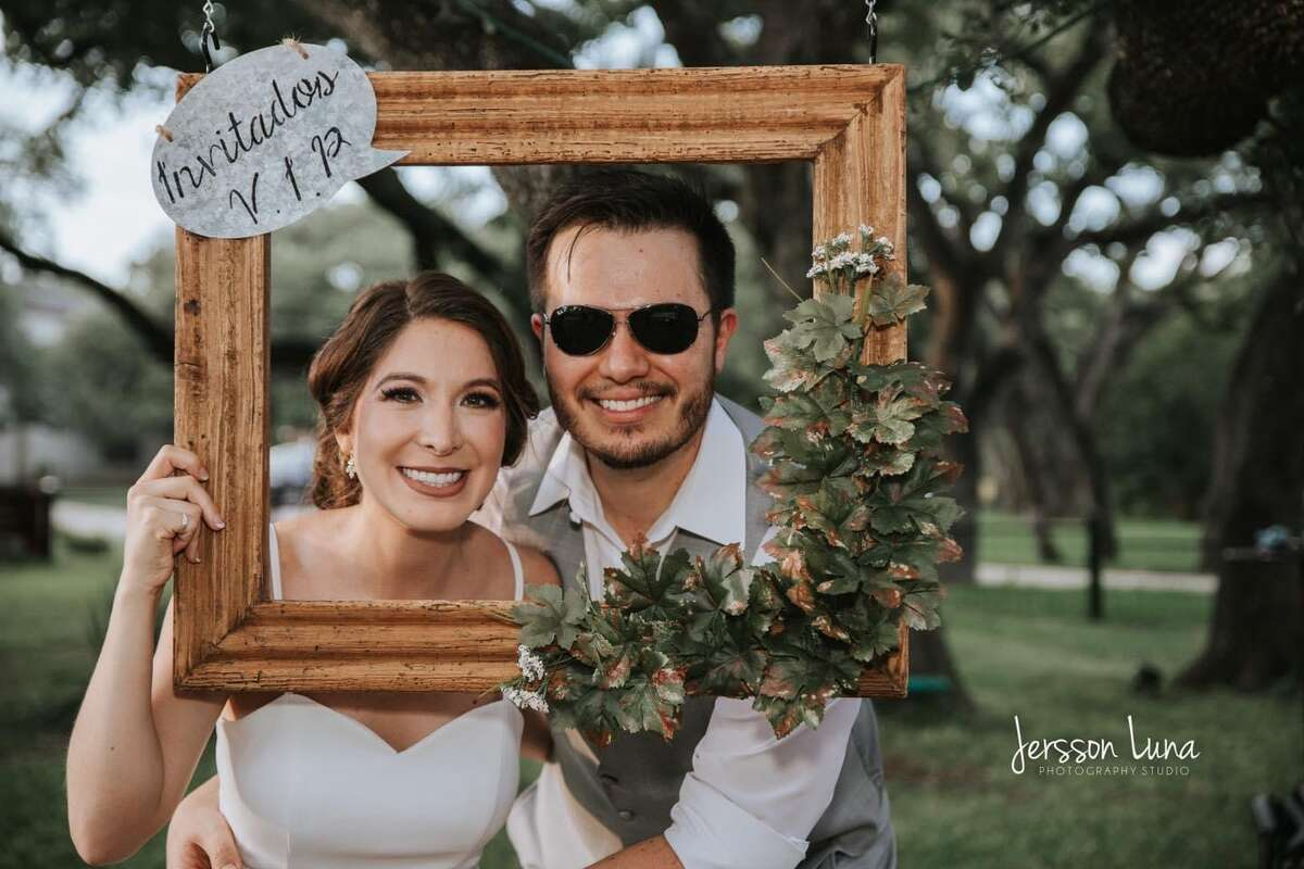 Mariana and her husband Gerardo.