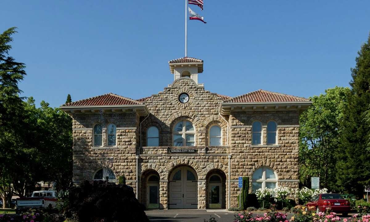 Sonoma City Hall, photographed Saturday, April 18, 2015.