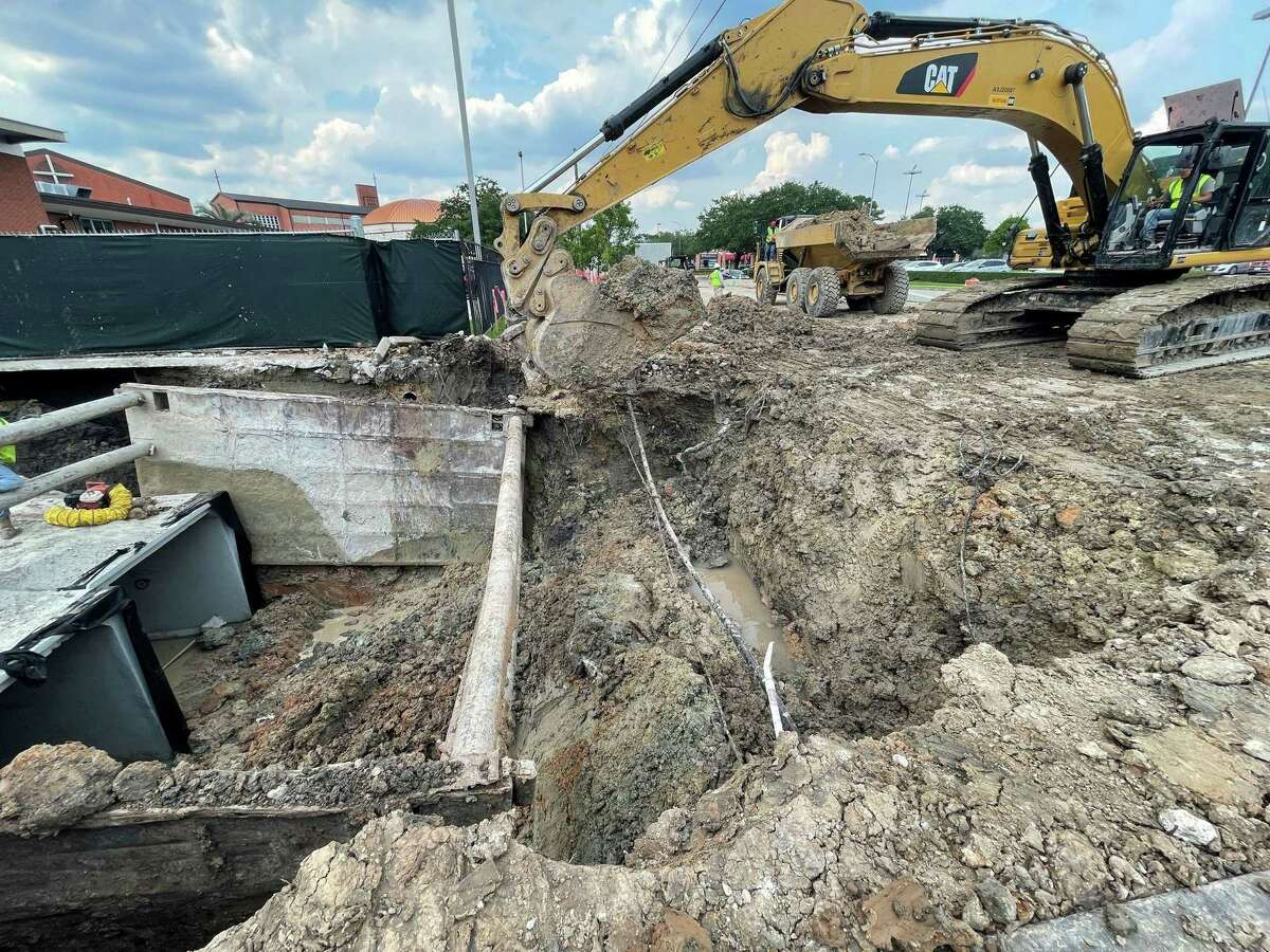 According to the city, the contractors have been making progress to the Buffalo Speedway Construction