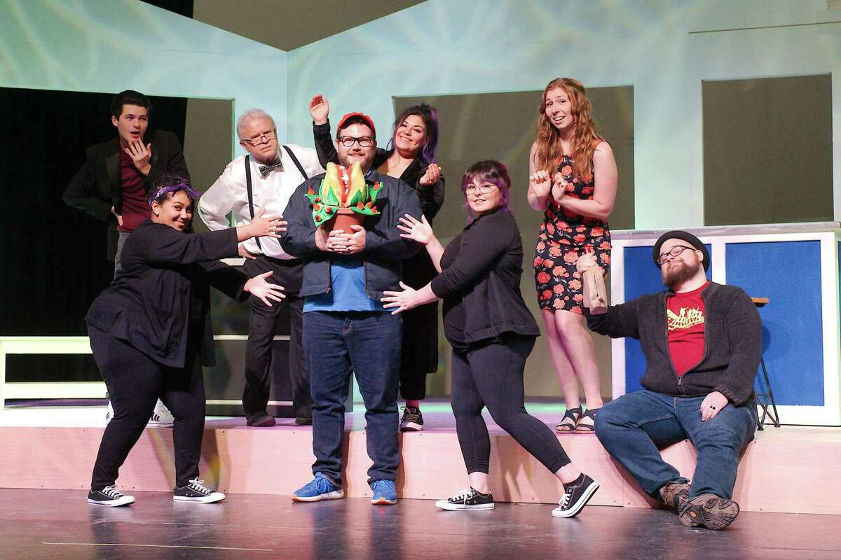"""The cast of Art Park Players' """"Little Shop of Horrors"""" is preparing for shows that will be performed July 9-25 in Deer Park."""