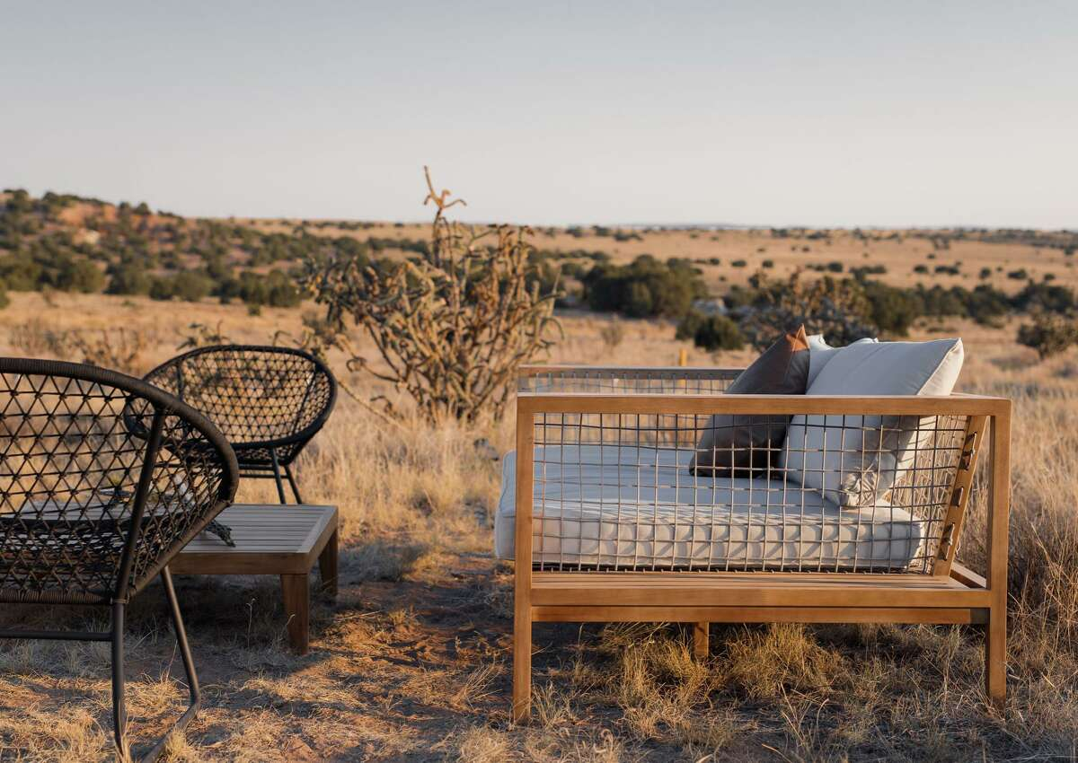 KitFox is a new glamping site in Lamy, New Mexico, run by two former Houstonians.