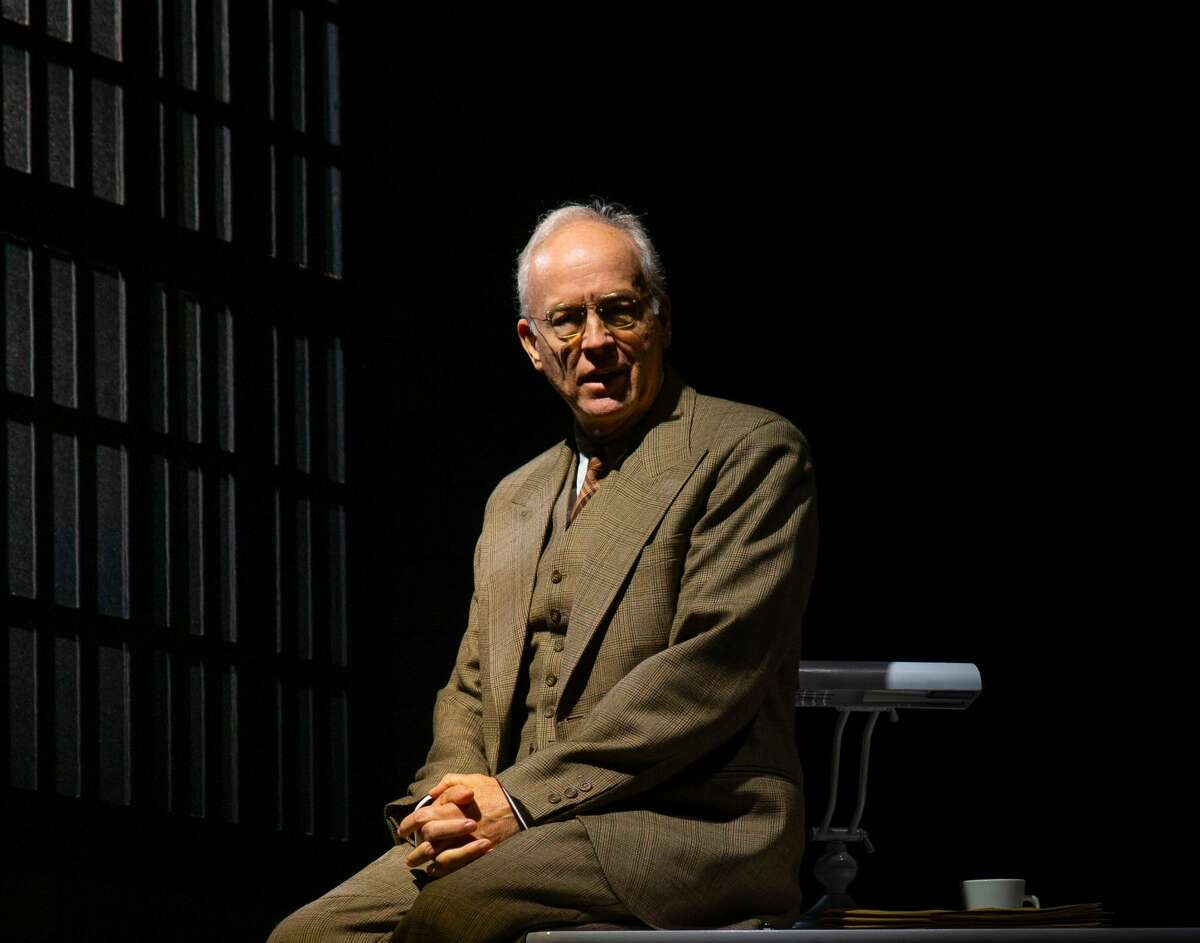 """Broadway and film actor Reed Birney stars in """"Chester Bailey,"""" a drama set in the mid-1940s about a young man recovering from catastrophic injuries and the older doctor who treats him. It runs June 18 to July 3 at Barrington Stage Company in Pittsfield, Mass. (David Dashiell/BSC)"""